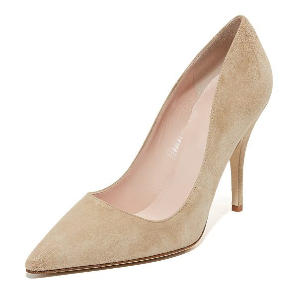Kate Spade New York Licorice pumps in light camel - Versatile, ladylike Kate Spade New York pumps made from...