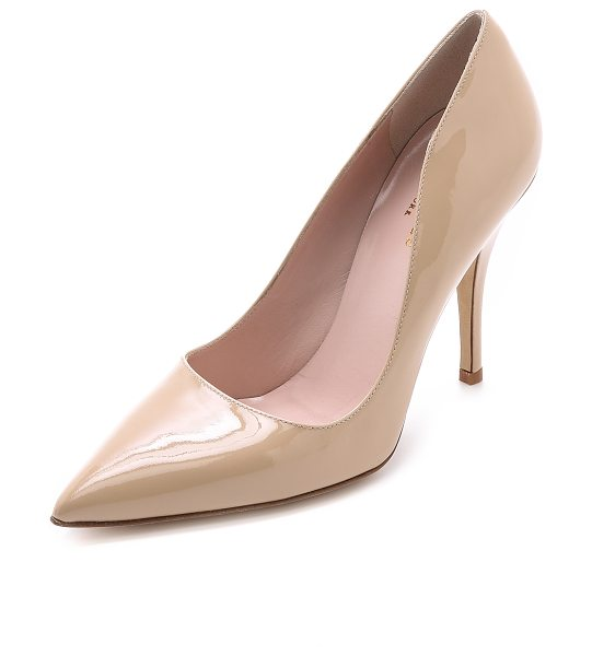 KATE SPADE NEW YORK licorice pumps - These versatile Kate Spade New York pumps are made from...