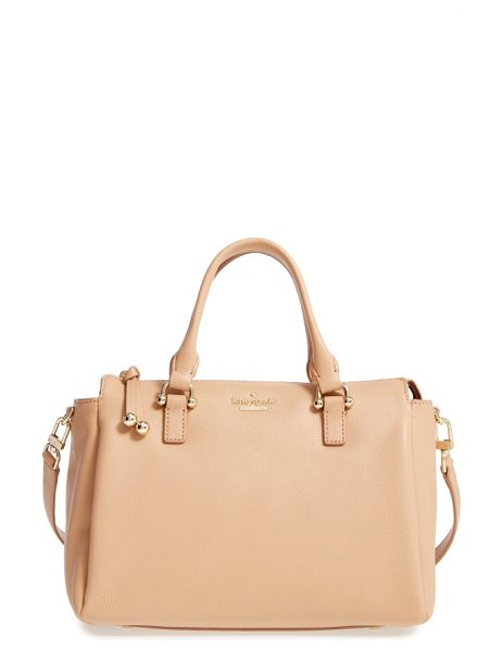 Kate Spade New York lombard street in sand - Polished goldtone hardware enhances the timeless...
