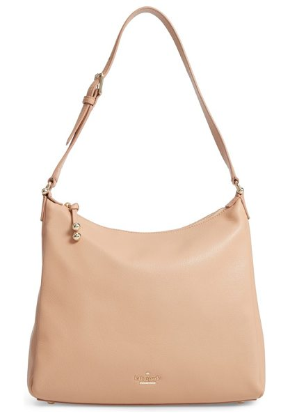 Kate Spade New York lombard street in sand - A lightly structured hobo bag in richly pebbled leather...