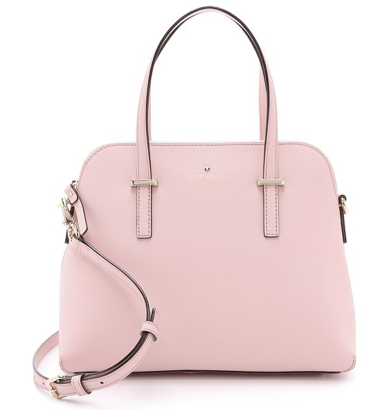 Kate Spade New York Maise dome satchel in rose jade - A sophisticated Kate Spade New York handbag in saffiano...