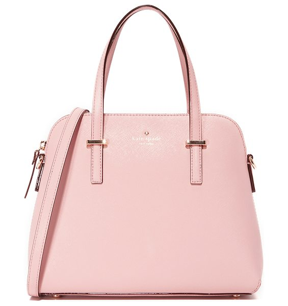 Kate Spade New York Maise shoulder bag in pink bonnet - A sophisticated Kate Spade New York handbag in saffiano...