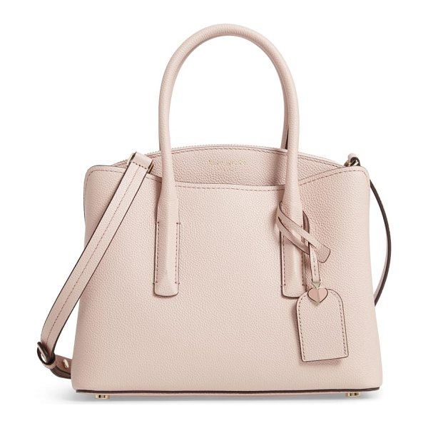 Kate Spade New York medium margaux leather satchel in pink