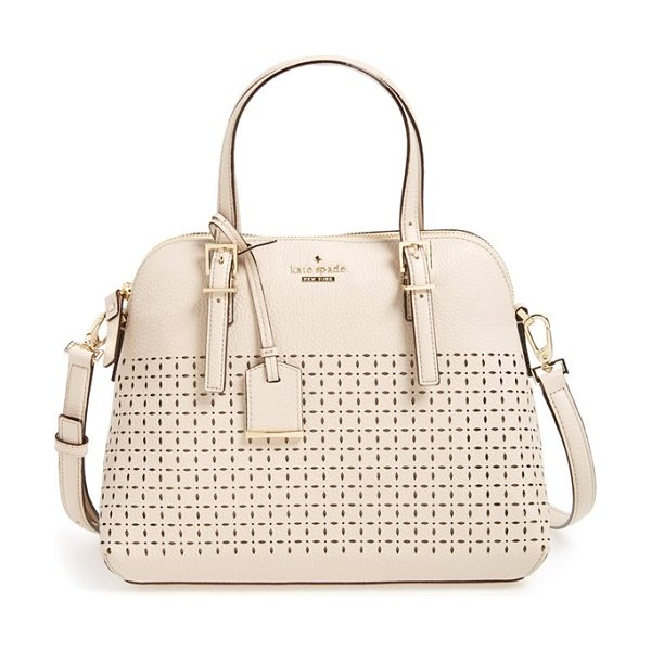 KATE SPADE NEW YORK Milton lane - Delicate perforations lend a sweet eyelet-inspired look...