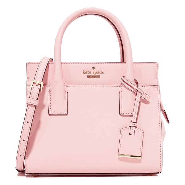 Kate Spade New York mini candace cross body bag in pink sunset