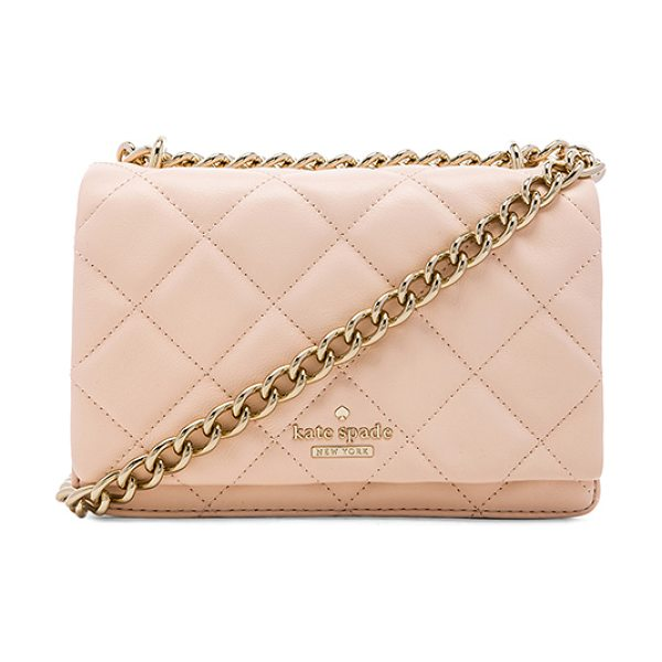 Kate Spade New York Mini vivenna crossbody in blush