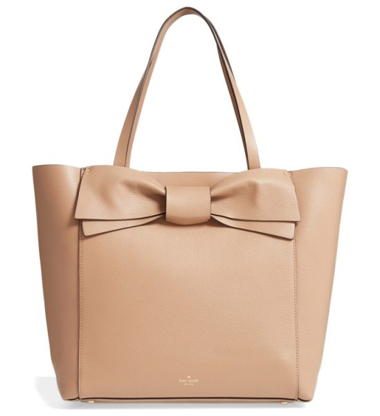 Kate Spade New York olive drive in hazel - A signature kate spade bow extends the uptown polish of...