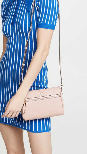 Kate Spade New York polly small crossbody bag in flapper pink