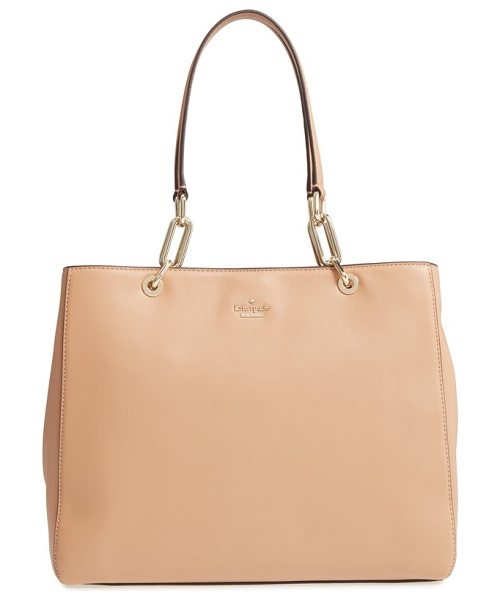 Kate Spade New York robson lane in biscotto - Keep your look pretty and polished with this leather bag...