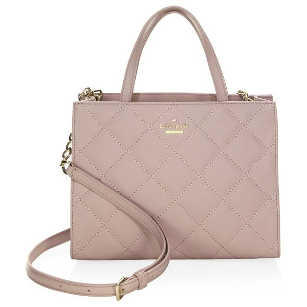 Kate Spade New York emerson place sam leather bag in bone grey