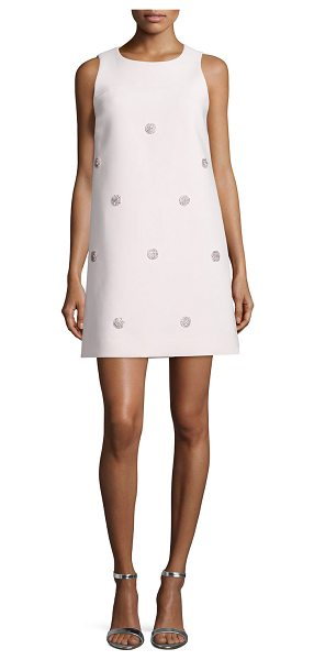 KATE SPADE NEW YORK sleeveless beaded shift dress - kate spade new york dress with polka dot beaded front....