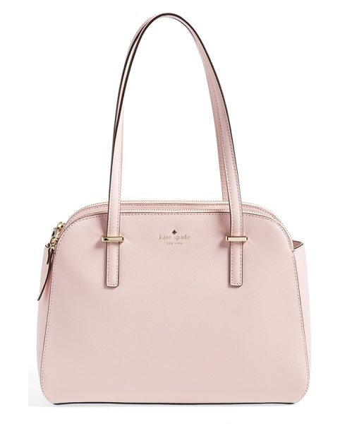 KATE SPADE NEW YORK Small elissa tote - Clean curves characterize a vintage-chic tote cast in...