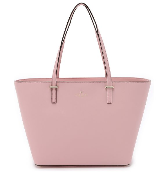 Kate Spade New York Small harmony tote in rose jade - A structured Kate Spade New York handbag in sturdy...
