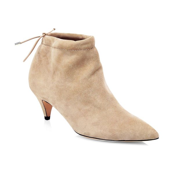 Kate Spade New York sophie suede ankle boots in sand