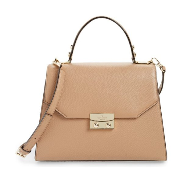 KATE SPADE NEW YORK stewart street samira leather top handle satchel - An optional, adjustable strap and top handle make it a...