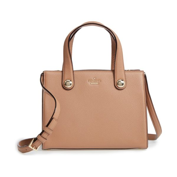 Kate Spade New York stewart street in hazel - An optional, adjustable strap and top handles make it a...