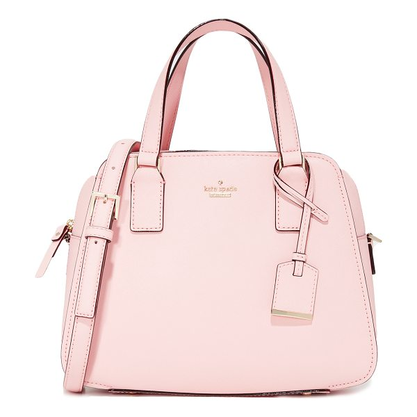 Kate Spade New York street little babe bag in pink sunset - A boxy Kate Spade New York satchel in saffiano leather....