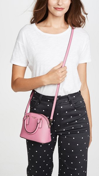 Kate Spade New York sylvia mini dome satchel in blustery pink