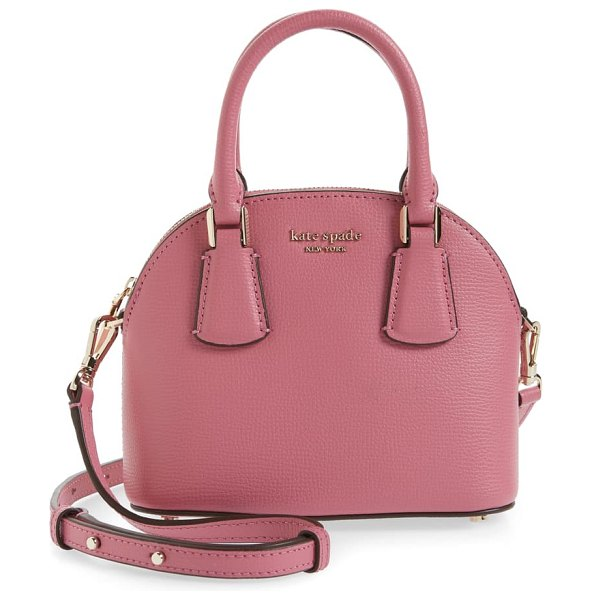 Kate Spade New York sylvia mini leather dome satchel in pink