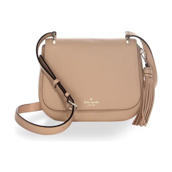 Kate Spade New York daniels drive tressa bag in hazel - From the Daniels Drive Collection. Leather bag with...
