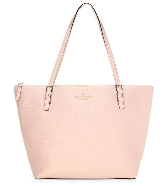 Kate Spade New York watson lane leather maya tote in dusty vellum - From the Watson Lane Leather collection. On-trend tote...