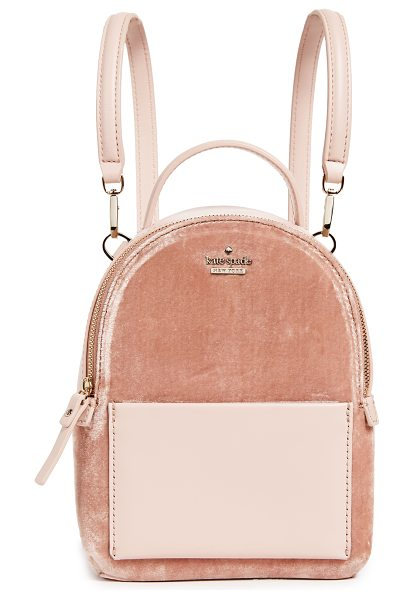 Kate Spade New York watson lane merry mini backpack in ginger - A petite Kate Spade New York backpack crafted in plush...