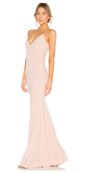 Katie May bambi gown in dusty rose