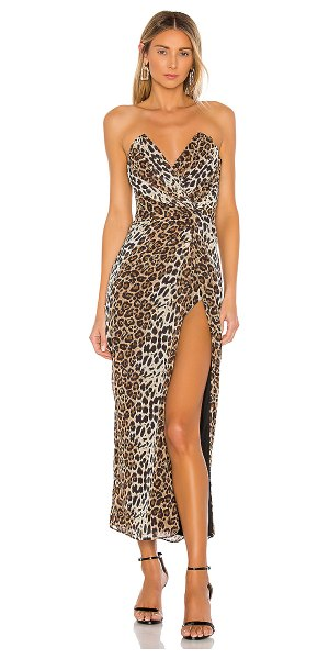 Katie May come on home dress in leopard