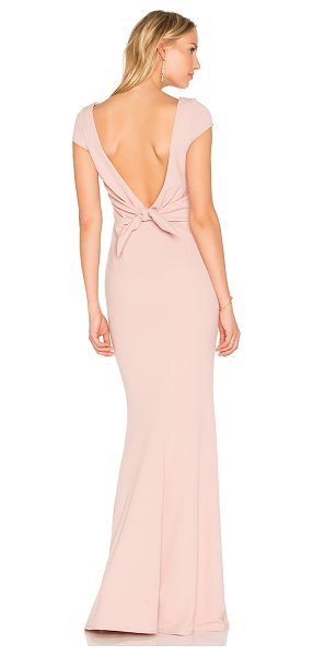 Katie May Intrigue Gown in pink - Self: 97% poly 3% spandexLining: 100% poly. Dry clean...