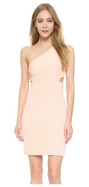 Kaufman Franco One shoulder dress in cotton candy