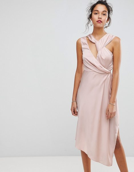 KEEPSAKE Asymmetric Midi Dress - Midi dress by Keepsake, Some days call for a little...