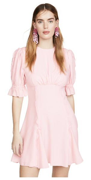Keepsake beloved mini dress in blush