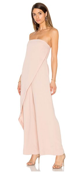Keepsake Visionary Jumpsuit in blush - Self & Lining: 100% poly. Hand wash cold. Plastic bodice...