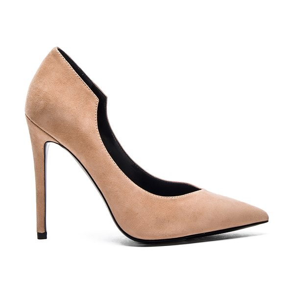 KENDALL + KYLIE Abi Heel - Suede upper with man made sole. Heel measures approx...