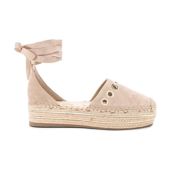 "KENDALL + KYLIE Ariela Espadrille - ""Suede upper with man made sole. Wrap ankle with tie..."