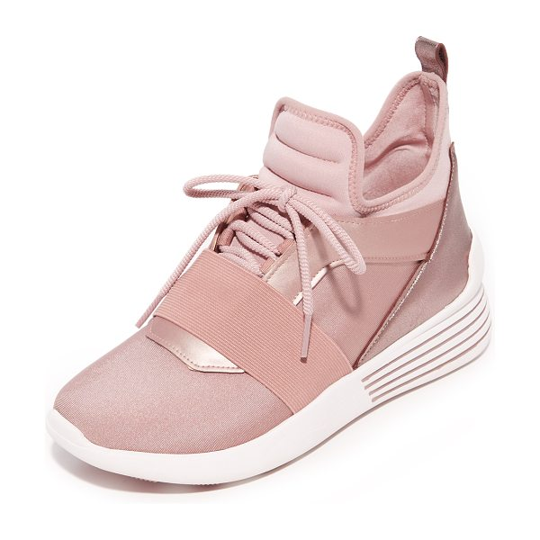 KENDALL + KYLIE braydin 3 trainers in rose gold - Sporty KENDALL + KYLIE sneakers in an eclectic mix of...