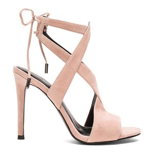 KENDALL + KYLIE Eston heel - Suede upper with man made sole. Lace-up back with tie...
