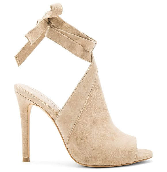 KENDALL + KYLIE Evelyn Heel - Suede upper with man made sole. Wrap ankle strap with...