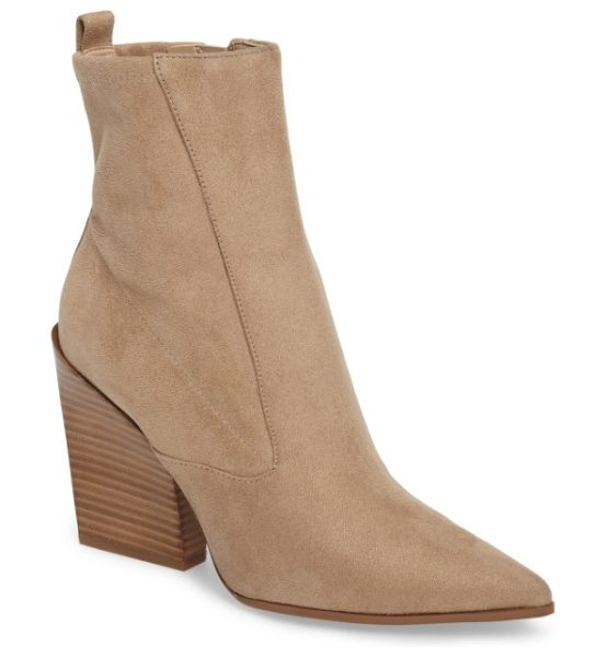 KENDALL + KYLIE fallyn pointed toe bootie - All about the angles, this striking bootie uses its...