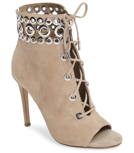 KENDALL + KYLIE giada bootie - A Victorian-inspired peep-toe bootie is designed with...
