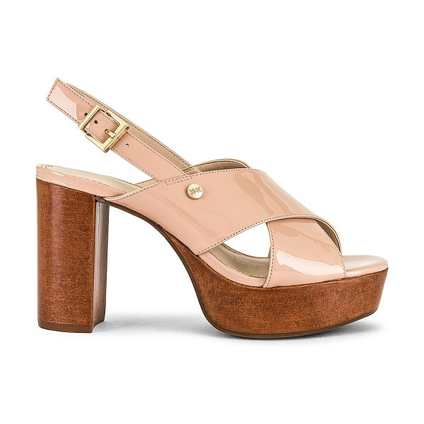 KENDALL + KYLIE shian patent sandal in nude