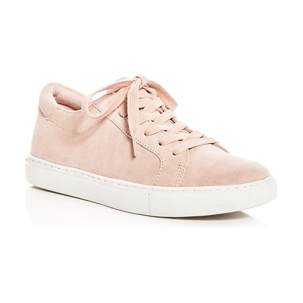 Kenneth Cole Kam Lace Up Sneakers in rose - Kenneth Cole Kam Lace Up Sneakers-Shoes