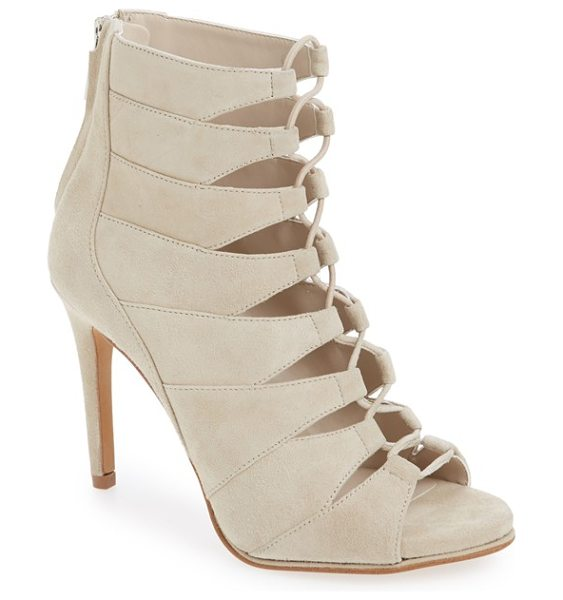 Kenneth Cole barlow sandal in taupe suede