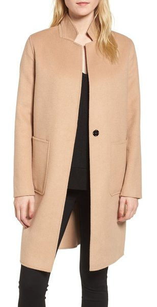 Kenneth Cole double face wool blend coat in camel