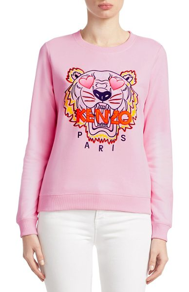 KENZO Classic Embroidered Tiger Sweatshirt   Nudevotion 1d59228d7ce