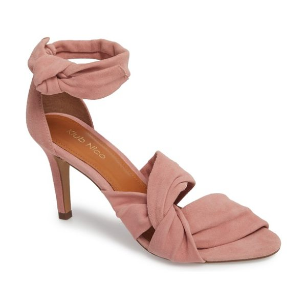 KLUB NICO anni tie ankle sandal - A modern alternative to your usual pumps, this statement...