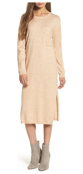 Knot Sisters darrien shift dress in bare - If your plans are hovering between going out and vegging...
