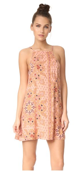Knot Sisters meg dress in blush mandala - This lightweight Knot Sisters mini dress is embellished...