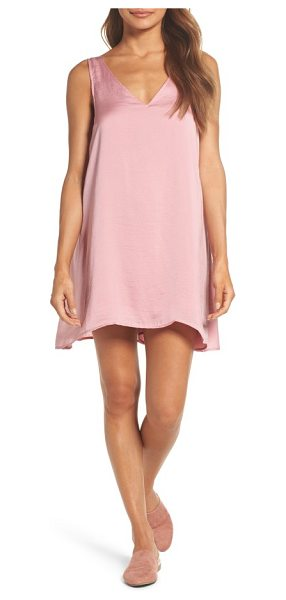 Knot Sisters winona sleeveless dress in dusty rose - A lightweight, sleeveless dress in a breezy A-line...
