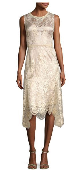 "KOBI HALPERIN Sariyah Sleeveless Floral Lace Cocktail Dress in gold - EXCLUSIVELY AT NEIMAN MARCUS Kobi Halperin ""Sariyah""..."